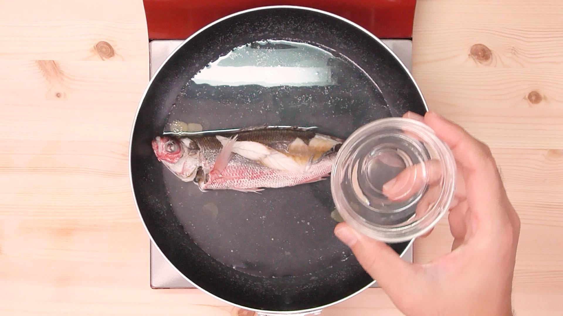 グルクンマース煮07