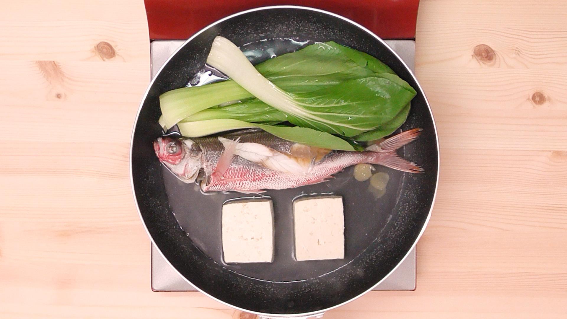 グルクンマース煮09