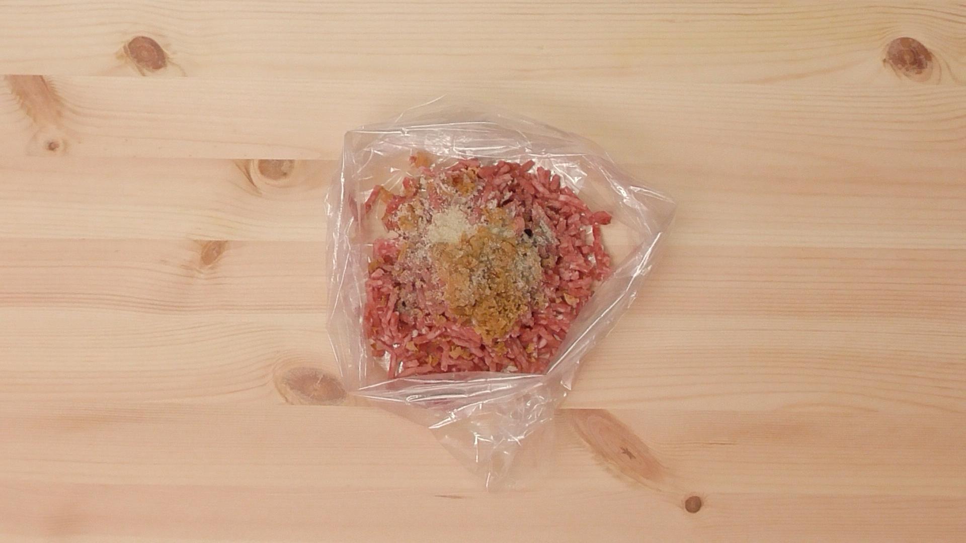 ゴーヤーの肉詰め02