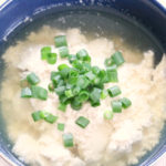 豆乳で作ってどこでも食べられる ゆし豆腐