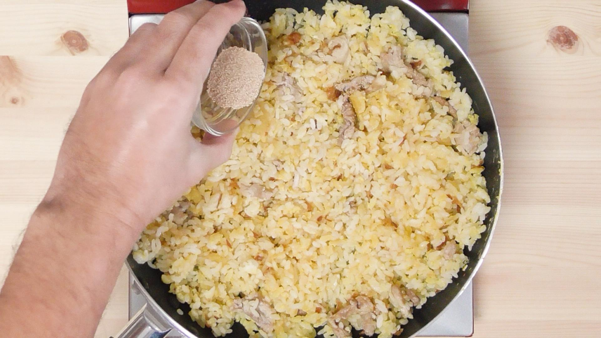 チキナー炒飯14