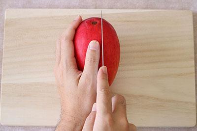マンゴーの切り方04
